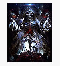 OVERLORD DEATHKNIGHT Photographic Print