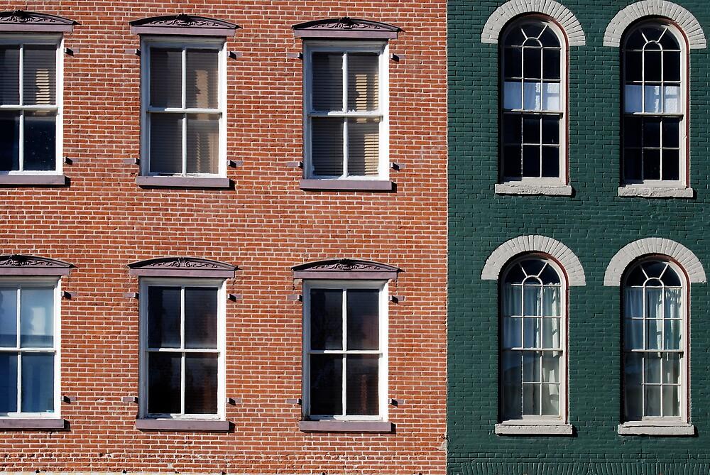 Brick & Windows by Robert Baker