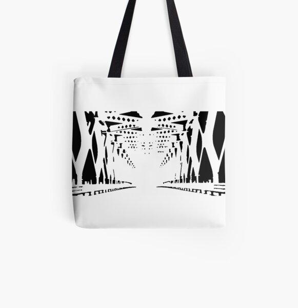 Ohne Titel Allover-Print Tote Bag
