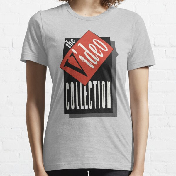 The Video Collection Retro Logo Essential T-Shirt