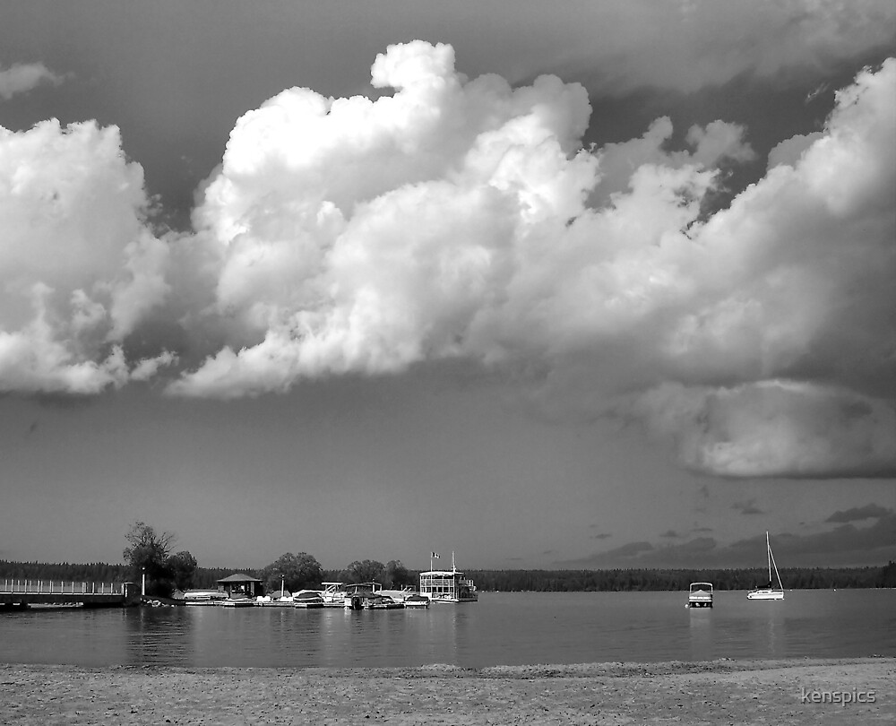 Clear Lake Clouds by kenspics