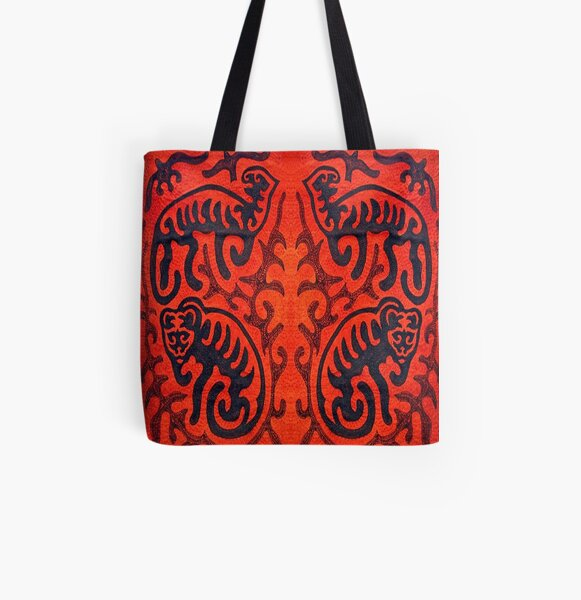 Deep ancient traditions in art All Over Print Tote Bag