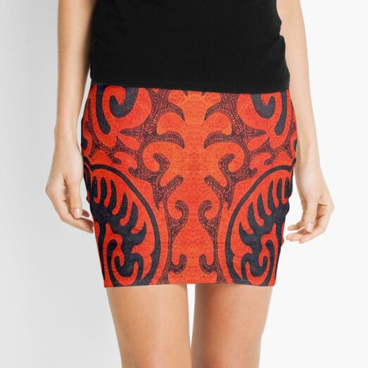 Deep ancient traditions in art Mini Skirt