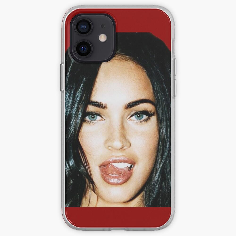 Megan_Tongue iPhone Case & Cover