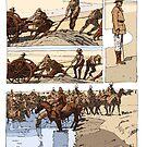 Australian cavalry by David  Kennett