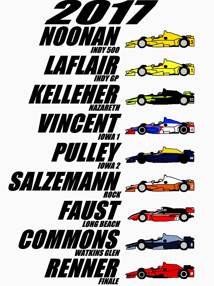 2017 Brickel's IndyCar Winners by TheJoeDonohue