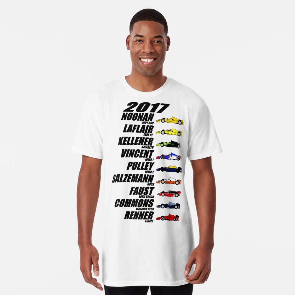 2017 Brickel's IndyCar Winners Long T-Shirt