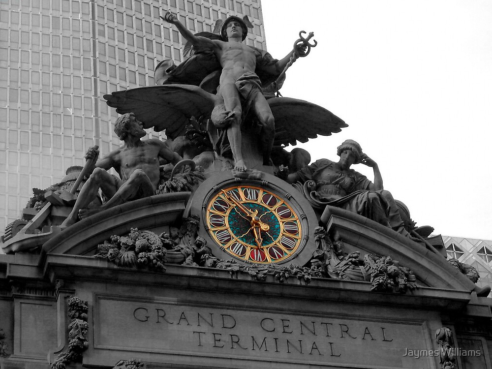 Grand Central Terminal Number 1 by Jaymes Williams