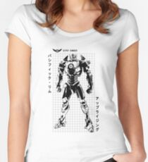 Gipsy Danger (Pacific Rim Uprising) Women's Fitted Scoop T-Shirt