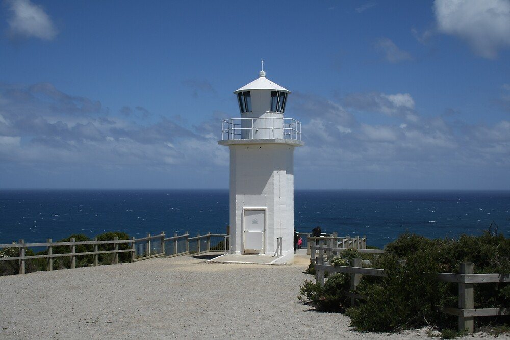 Lighthouse at Cape Liptrap by Lee Revell
