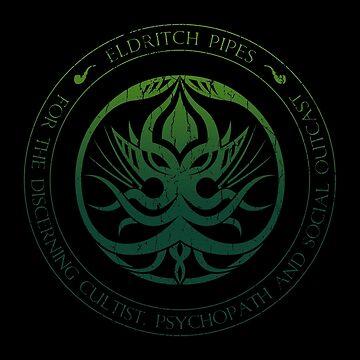 Eldritch Pipes Sigil (aged, poison) by Deefurdee