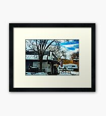 "No Longer ""The Only Bar in Dixon""  (Dixon, Montana, USA) Framed Print"