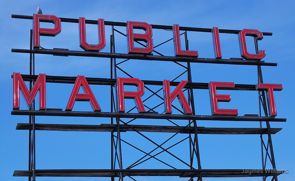 Pike Place Market Number 3, Seattle by Jaymes Williams