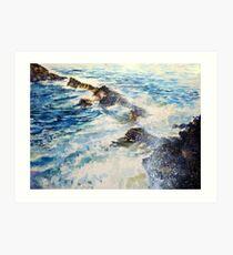 Sea of Poseidon Art Print