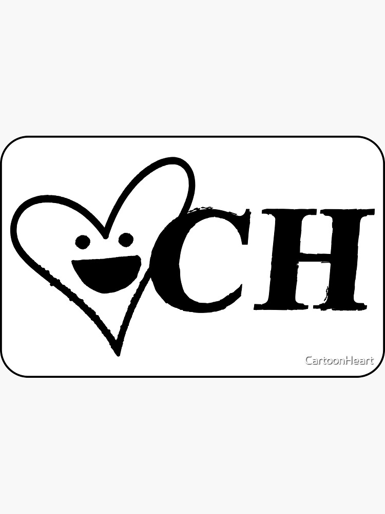 Simple Logo -- Sticker  by CartoonHeart