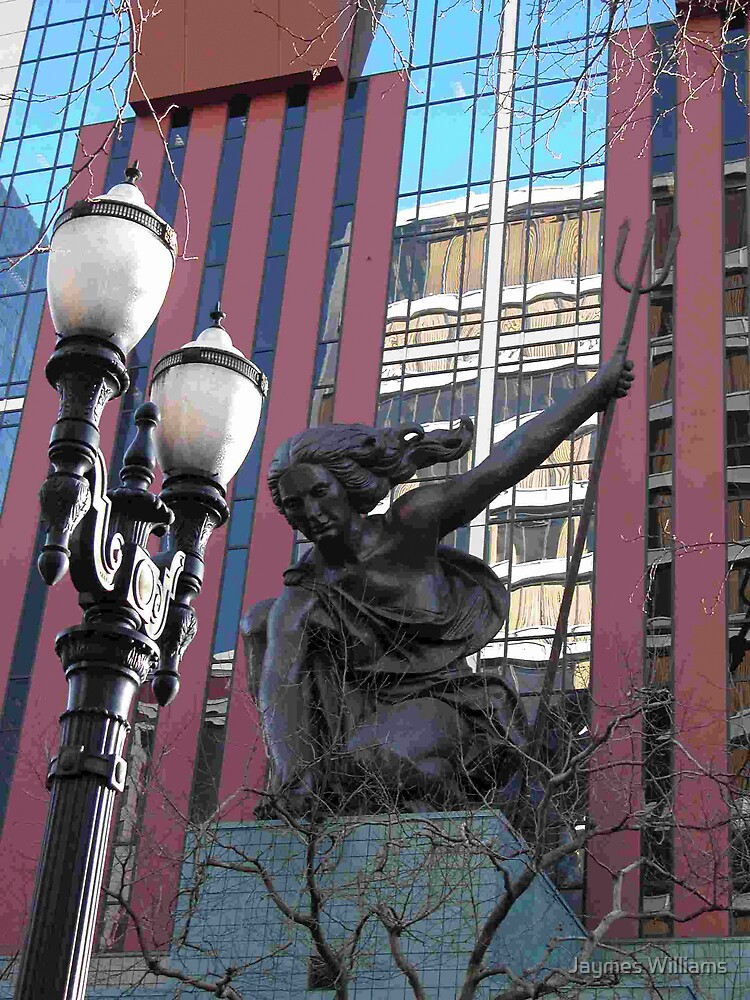 Portlandia Statue, Portland by Jaymes Williams
