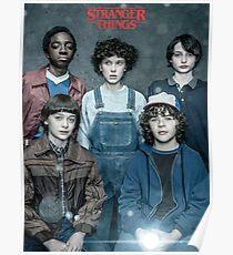 Stranger Things - Squad Poster