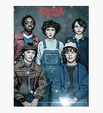 Stranger Things - Squad Photographic Print