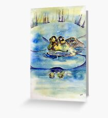 Queen of the Lilypad Greeting Card