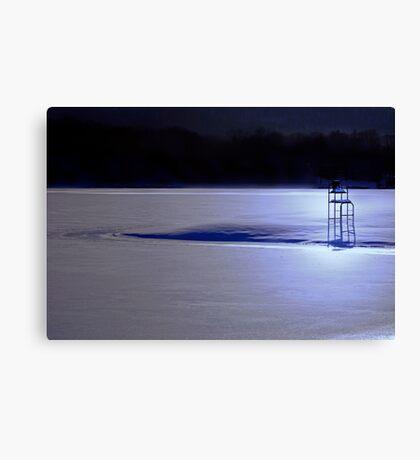 Snow Watch Canvas Print