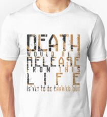 ARROW Deathstroke Quote Text T-Shirt
