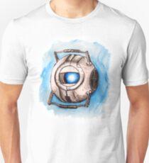 Portal2 - Wheatley (acuarelas) Unisex T-Shirt