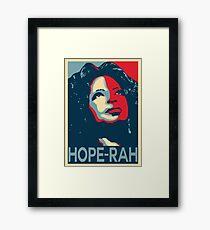 HOPE - RAH Framed Print