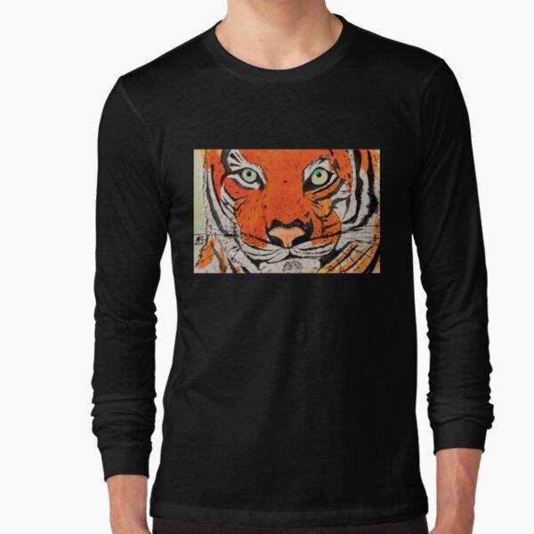 Jungle Cat's smirk Long Sleeve T-Shirt