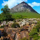 Buachaille Etive Mor in the Highlands of Scotland by David Rankin