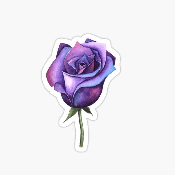 Galaxy Rose Sticker