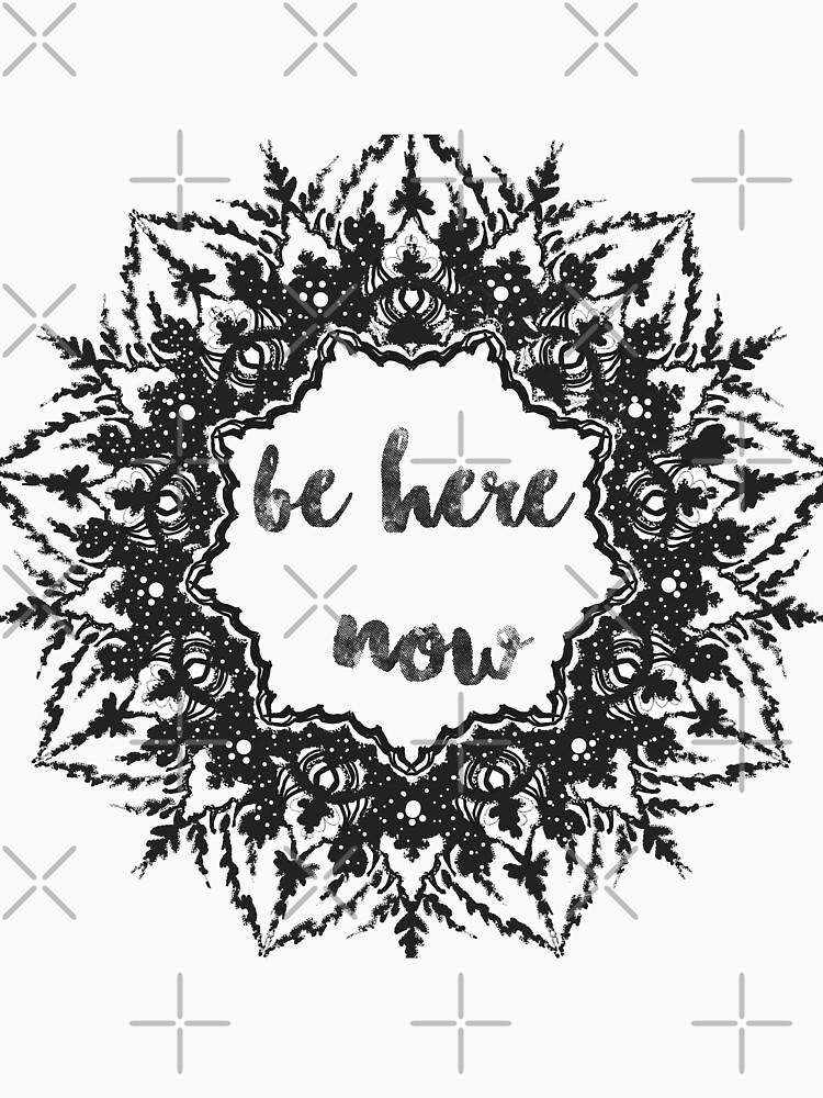 Be Here Now Mandala by artbysavi