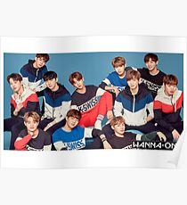 Póster wanna one
