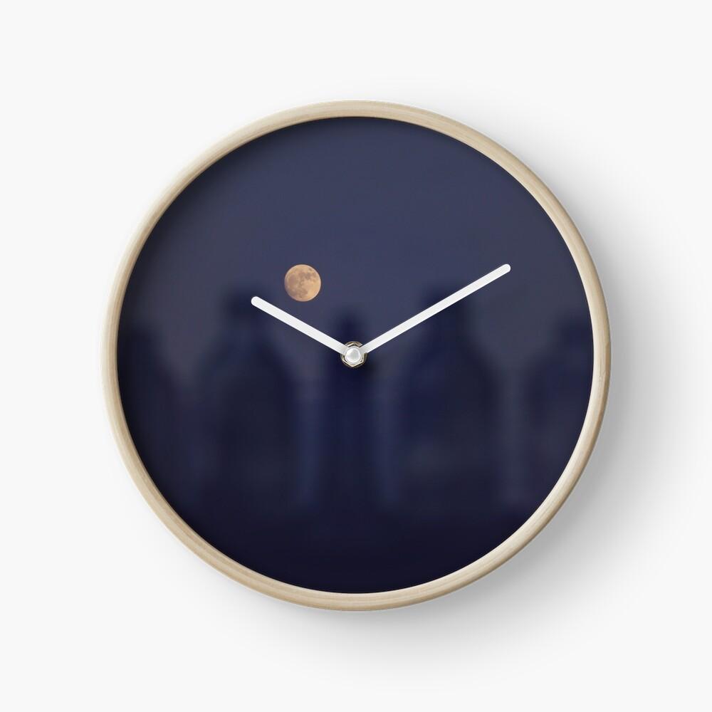 Wolf Moon Clock