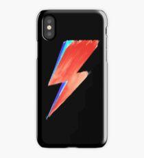 David Bowie Lightning iPhone Case