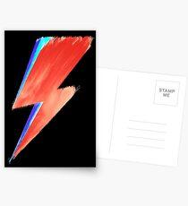David Bowie Lightning Postcards