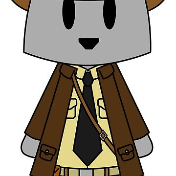 Indiana Jones Bear Indy by NuthatchDesigns