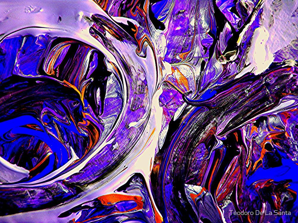 Swirling # 2 by Teodoro De La Santa