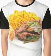 Chinese Fried beef with Scallion Graphic T-Shirt
