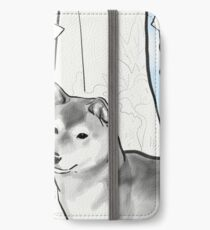 Shiba inu, Kimono and Summer breeze iPhone Wallet/Case/Skin