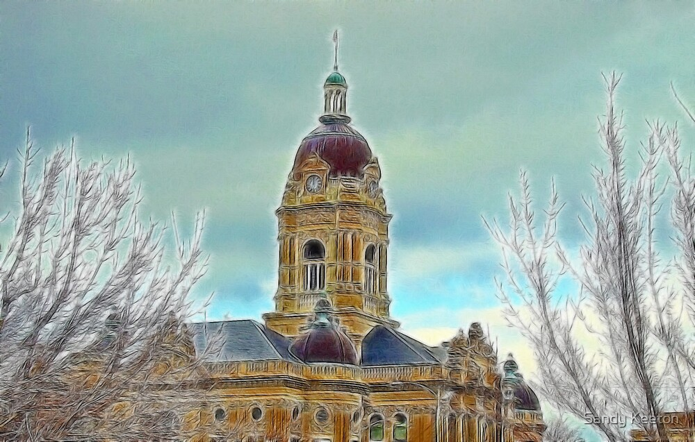 Courthouse Dome by Sandy Keeton