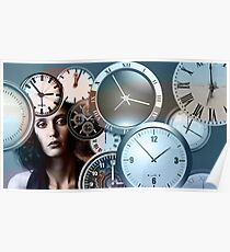 Time Clock Poster