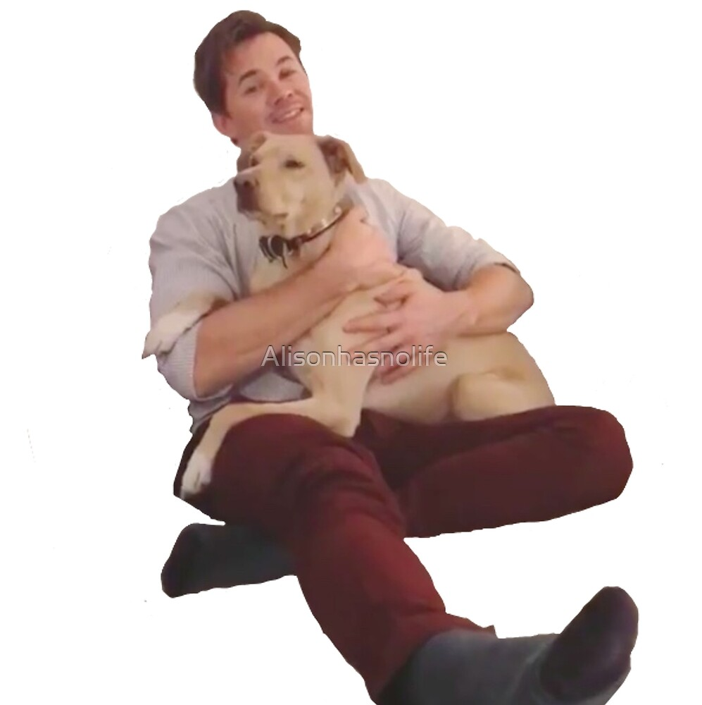 Andrew rannells and another pupper by Alisonhasnolife