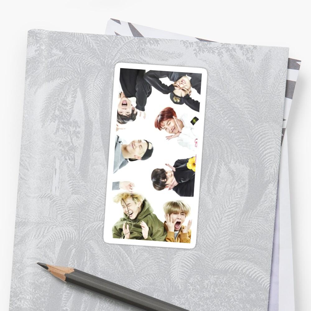 BTS Run Ep 33 Memes Sticker