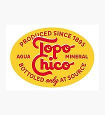 Topo Chico Photographic Print