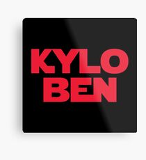 STAR WARS - Kylo Ben Metal Print