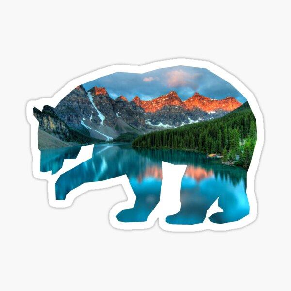 Banff Bear Sticker