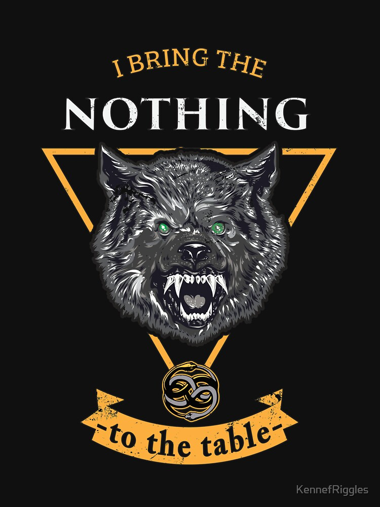 I Bring the Nothing by KennefRiggles