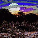 Moon Rise by Deborah Dillehay