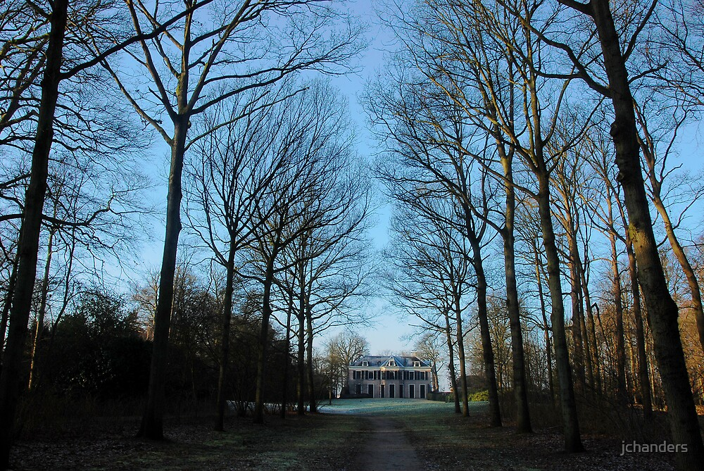 "Walking towards the country-house ""Schaep en Burgh"" by jchanders"