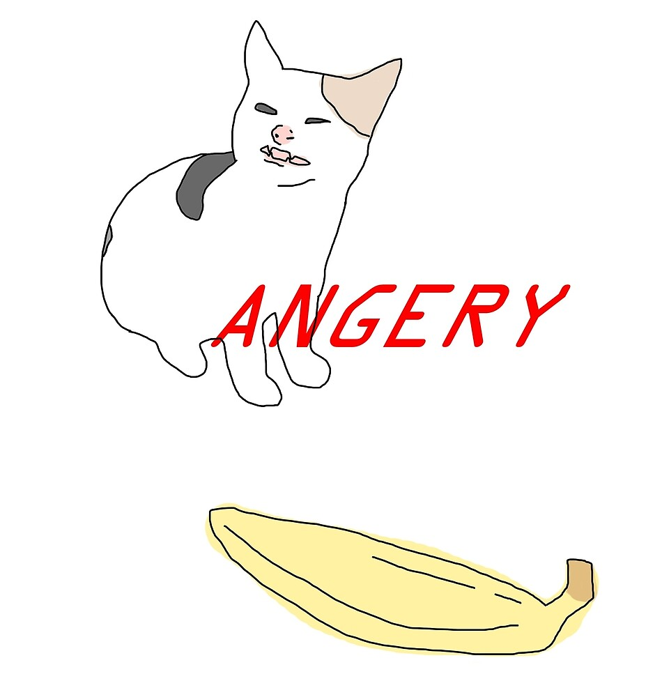 ANGERY BANANA BOI (CAT) by andie-sun